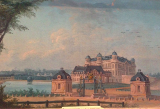 Chateau de Chantilly  c 1780