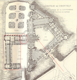 Chateau de Chantilly.floorplan.