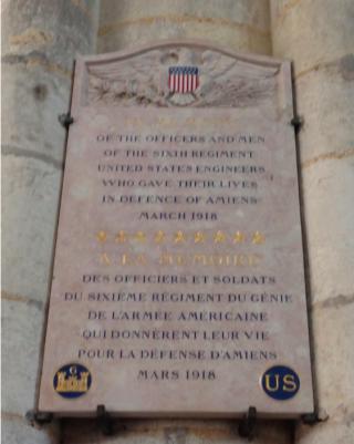 Amiens.Americans who died in defense of Amiens.15 )CT 2017