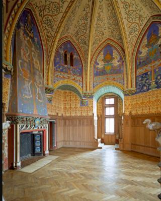 Pierrefonds.Empress's chamber.