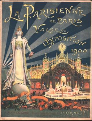 La Parisienne.Poster for Paris Exposition 1900