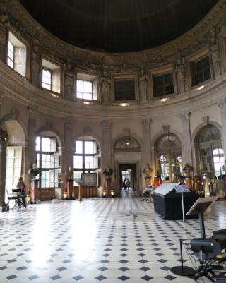 Vaux-le-Vicomte.Grand Salon.Oct 2017