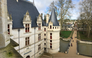 France.17Feb2018.Azay-le-Rideau.View from landing