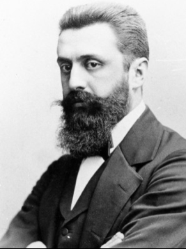 Theodore Herzl (1860-1904).Father of Israel.