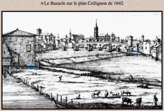 Bazacle & ford.Collignon.1642.