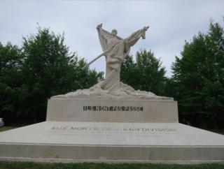Verdun.Monument at Mort-Homme.24July2015