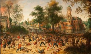 Vranx.1573-1647.Assault on a town.