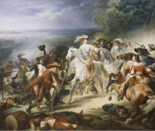 Heim.Prince of Condé.Battle of Rocroi.1643