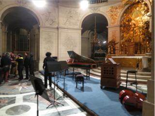 Concert at Versaille Chapel Royal.Jan 5, 2017
