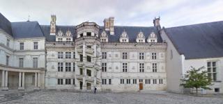 Château de Blois.François I renaissance wing