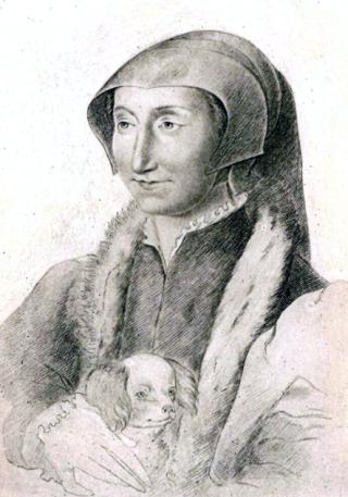 Fancçois Clouet.Marguerite de Navarre.Bibliothèque Nationale  Paris