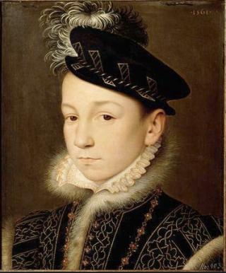 Clouet.Charles IX (1550-1574) c 1560