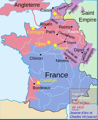 France around 1450