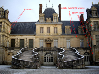Classical elements at Fontainebleau?