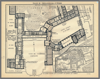Palace of Fontainebleau  1927