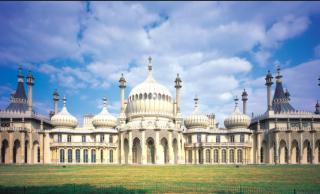 Brighton Pavilion.stock photo