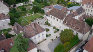 Vieux Bains.Provins.From the air