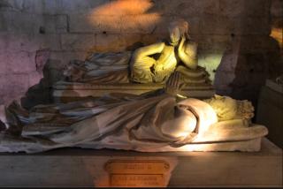 Pierrefonds.Gisant of Henri II