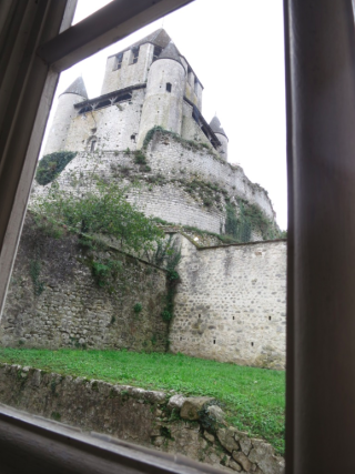 Provins.View from the museum.11 Oct 2017