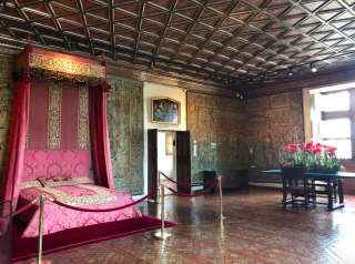 Chenonceaux.16FEB2018.The Five Queens' Bedroom