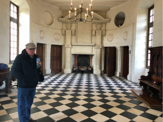 Chenonceaux.16FEB2018.Completely empty  cold gallery