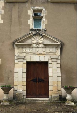 Manoir de la Touche.Front entrance.19Feb2018