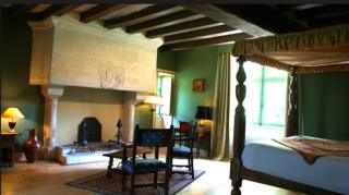 Manoir de la Touche.one of the bedrooms.