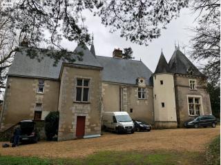 Manoir de la Touche.rear of house.19 Feb 2018