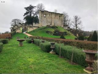 Château de Langeais.19FEB2018.Keep & Motte of original castle