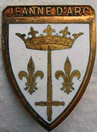 Jeanne d'Arc.du Lys coat of arms