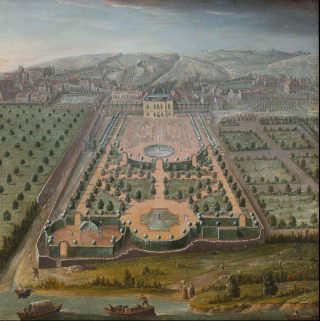 French garden.wikipedia.Note symmetry  pools.