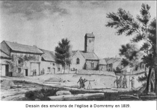 Jeanne d'Arc.birthplace when house was enlarged.