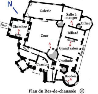 Mothe-Chandendier.floor plan of ground floor