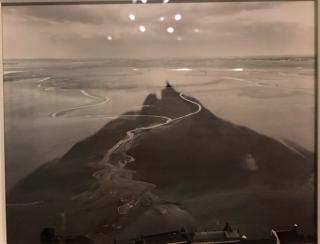 William Clift.Shadow Streams.Mt.St.Michel.France.1982