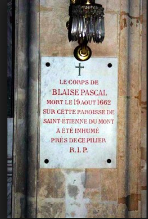 Paris.St-Etienne-du-Mont.hic iacet Blaise Pascal.internet