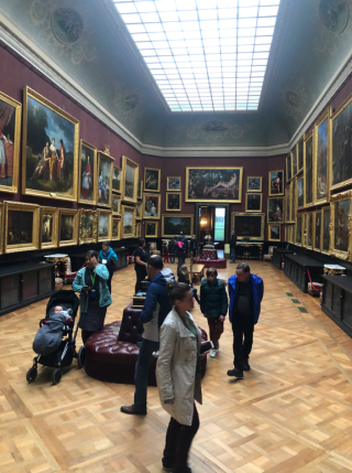 France2019.Chantilly art gallery in 19th century style.3NOV19