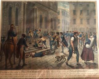 Lyon.massacres before hotel de ville  14DEC1793.