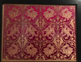 Lyon.Musée des Tissus.liturgical silk.1869.17NOV2019