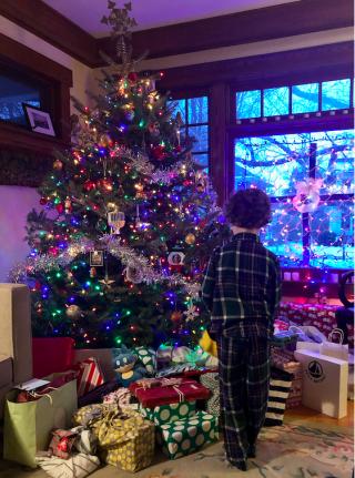 Christmas 2019.Saint Paul  seven AM