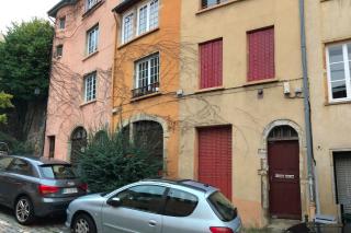 Lyon.Walking down hill from Fourviere.15NOV2019