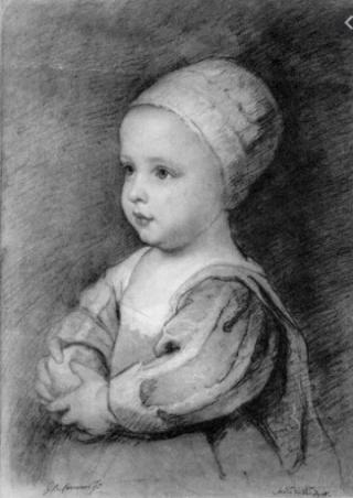 Princess Henrietta Maria.c1645.Van Dyke