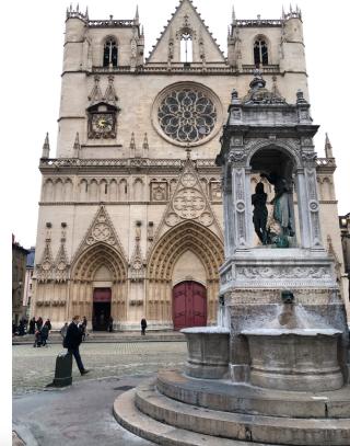 Lyon.Cathedral of Jean-Baptiste.15NOV2019