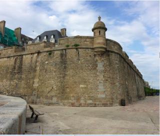 St Malo.Bastion St Philippe.google