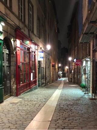 Lyon.Vieux Lyon by night.15NOV2019