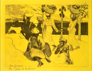 Gauguin.Cigales&Fourmi.Memories of Martinique.1889