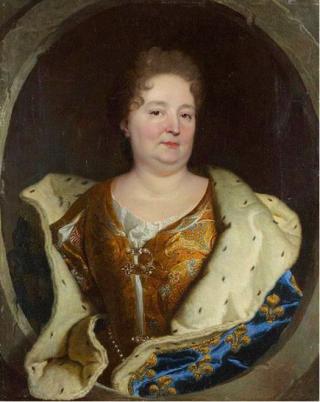Elizabeth Charlotte  Duchess of d'Orleans  c1700.Hyacinthe Rigaud