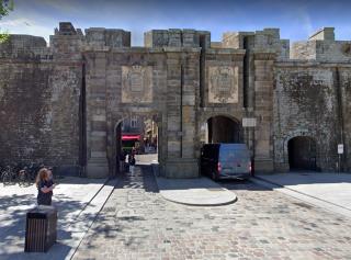 St-Malo.Porte of Saint Vincent.google street view