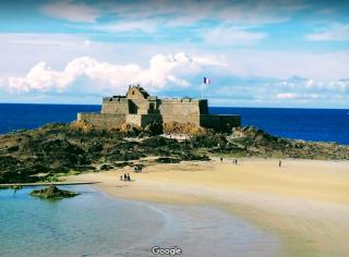 Saint-Malo.Fort National.google