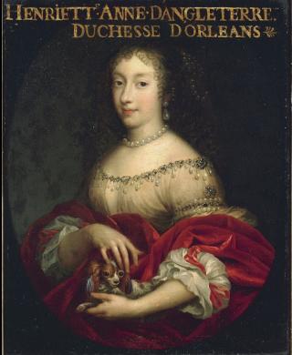 Henrietta of England.1644-1670.Duchess of Orléans.c1661