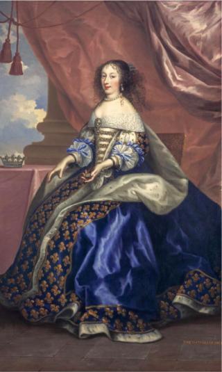 Princess Henrietta Maria  Duchess of Orleans.